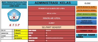 gambar aplikasi manajemen guru kelas lengkap