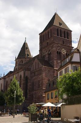 La Chiesa di Saint Thomas la seconda per grandezza di Strasburgo
