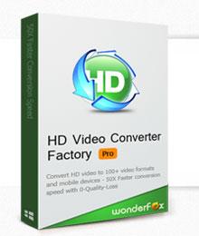 تحميل HD Video Converter Factory Pro مجاني لتحويل الفيديو الى اكثر من 40 صيغة