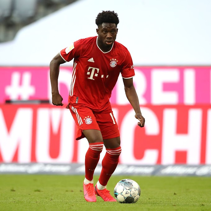 Bayern Munich left-back Alphonso Davies at risk of missing Barcelona clash