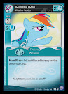 My Little Pony Rainbow Dash, Weather Leader Premiere CCG Card