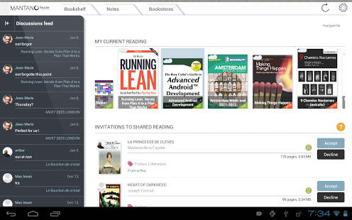 Mantano Ebook Reader Premium APK