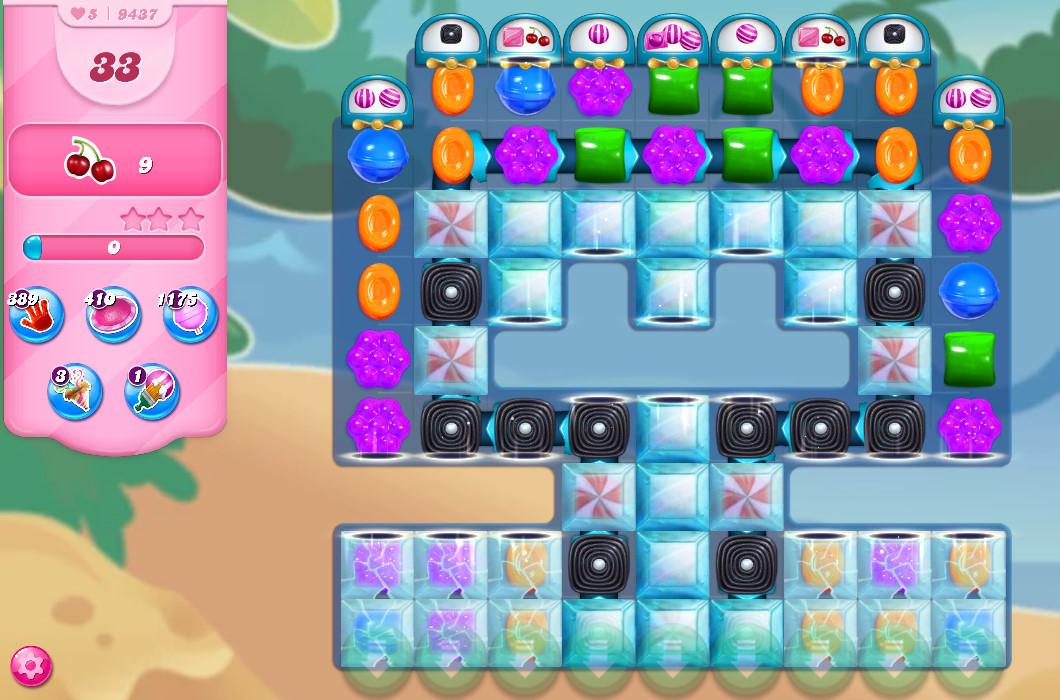 Candy Crush Saga level 9437