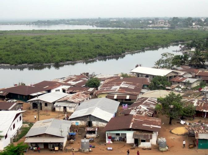Mesurado River Monrovia Liberia