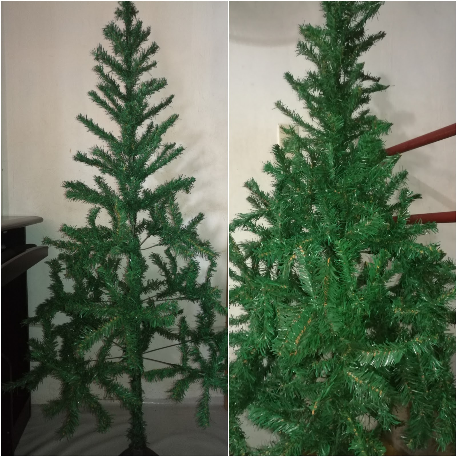 The Quality Is Just Proportional To Its Price So It S Time For A Christmas Tree Makeover Here How Make Look Fuller