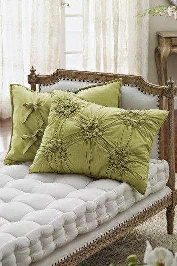poduszki drapowane