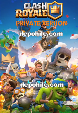 Clash Royale Palace Private Version Hileli Apk Temmuz 2018