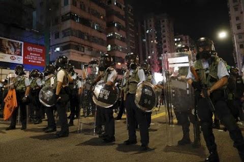 A hongkongi rendőrség betiltotta a szombatra tervezett demokráciapárti tüntetést
