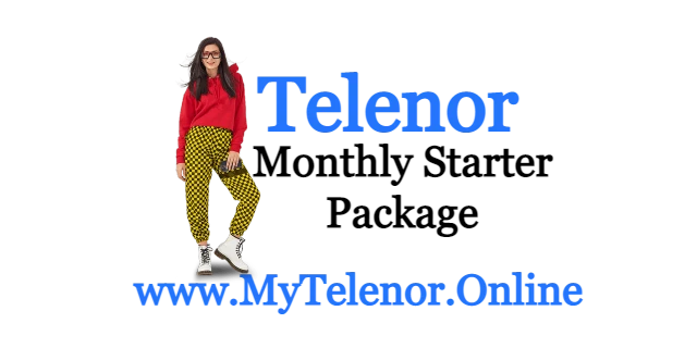 Telenor Monthly Starter Get 15 GB Internet  | MYTelenor  |