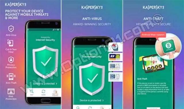 تنزيل تطبيق Kaspersky Internet Security 11.30.4.2388 Full APK كامل مجانا للاندرويد