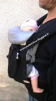 Ergobaby Original portage babycarrier préformé avis test réducteur test avis
