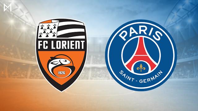 مشاهدة مباراة باريس سان جيرمان و لوريان اليوم بث مباشر