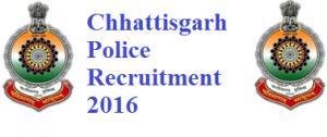 CG Police CRPF Constable Recruitment 2016