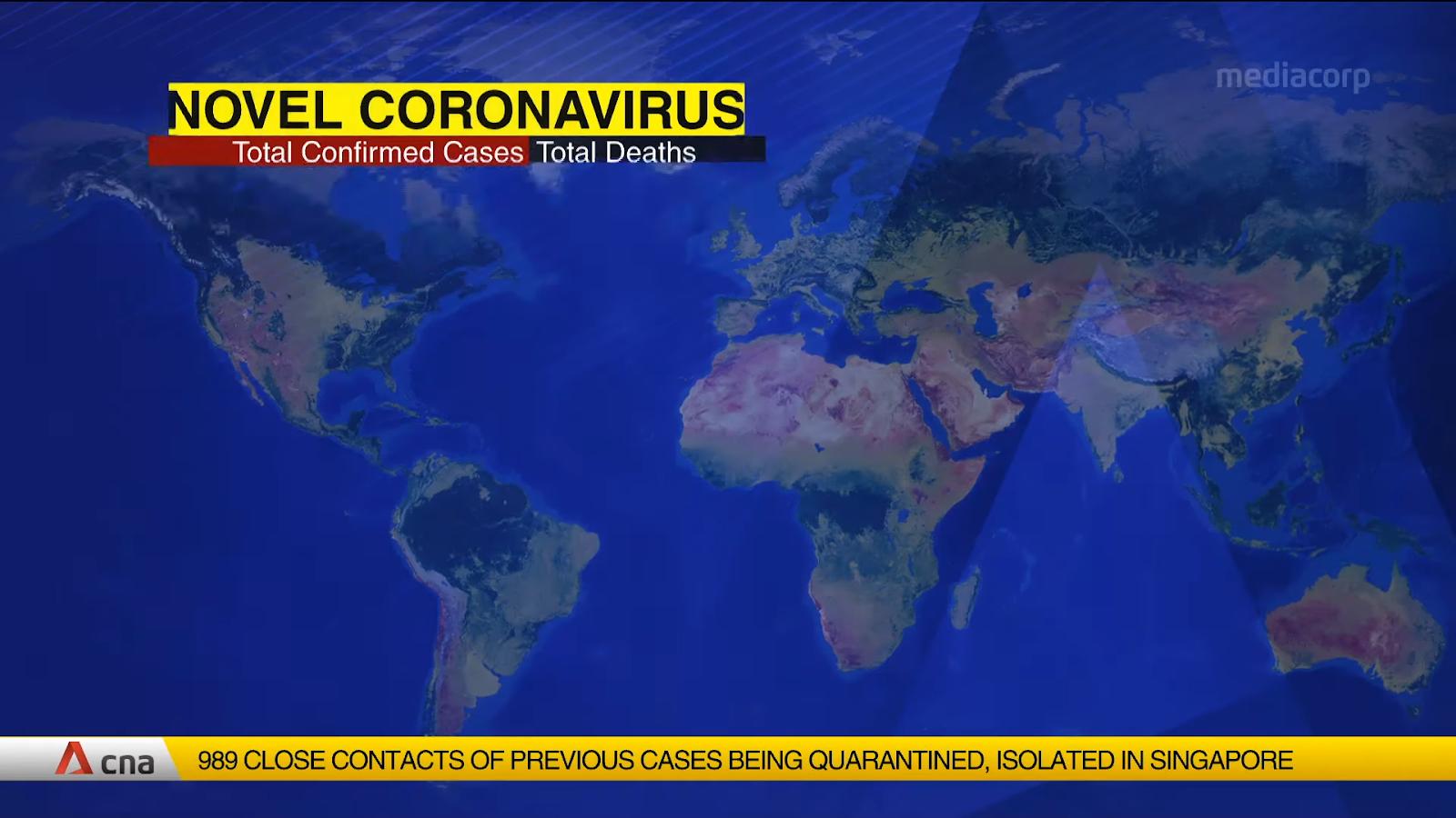 Coronavirus update.