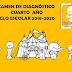 EXAMEN DE DIAGNÓSTICO DE CUARTO GRADO PARA EL CICLO ESCOLAR 2019-2020.