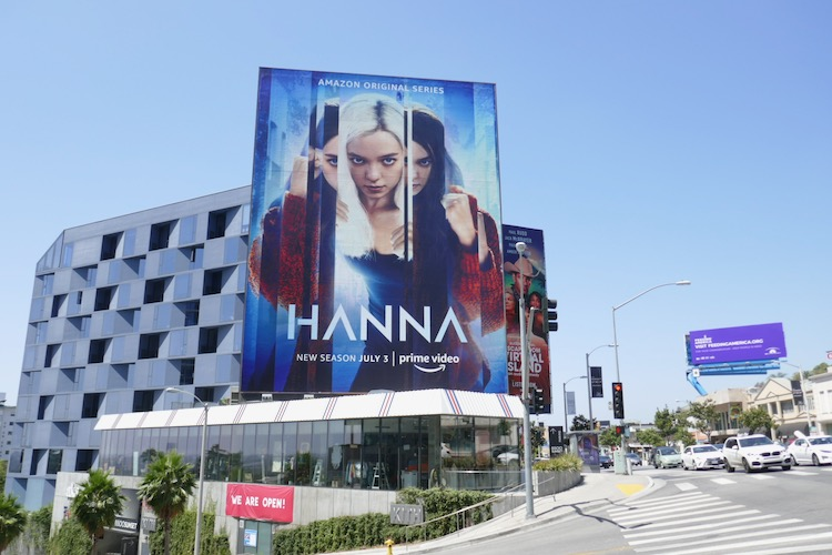 Giant Hanna season 2 billboard