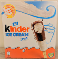 Kinder ice cream stick lollies