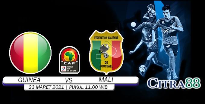 PREDIKSI GUINEA VS MALI 23 MARET 2021