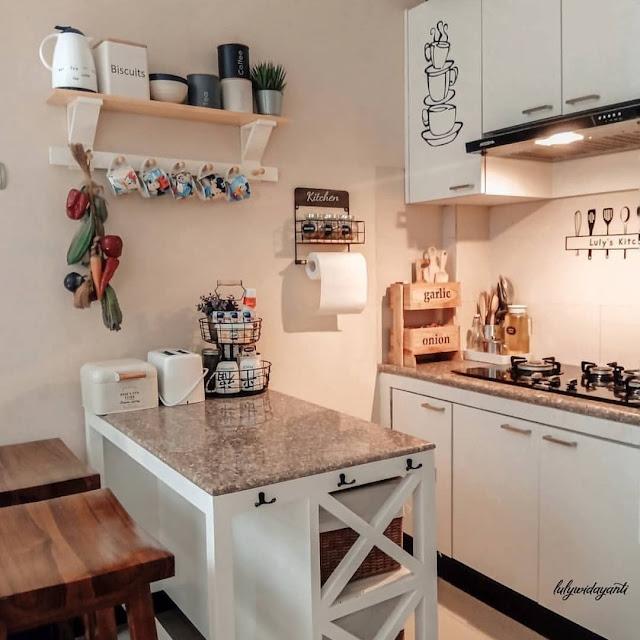 Model Kitchen Set Double Line untuk Dapur Kecil