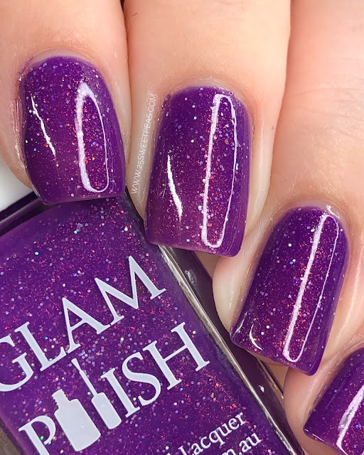 Glam Polish Rise of the Resistance 25 Sweetpeas