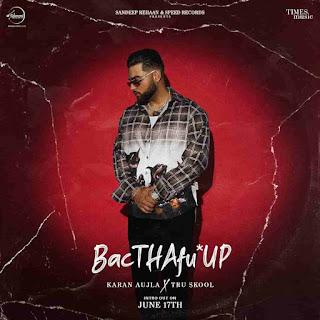 Karan Aujla BacTHAfu*up Lyrics Status Download Song Kde bheed ch hunda c te hun kath ch huna WhatsApp status video black background status.