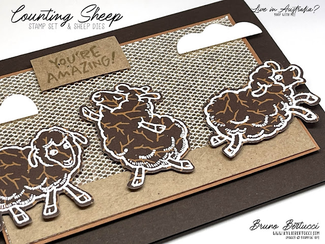 Counting Sheep Stamp Set with Sheep Dies | Saleabration ENDING SOON!!!