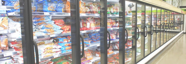 Tủ mát Module ghép nối nhiều cửa trưng bày thực phẩm siêu thị