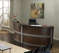 Cool Guest Reception Desk