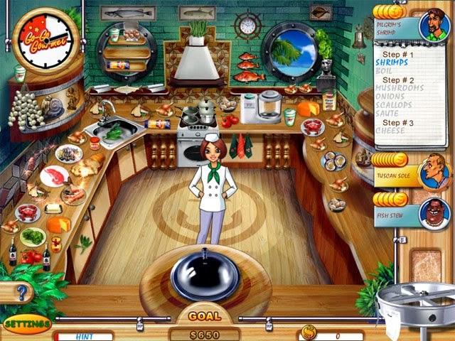 Go-Go Gourmet , เกม, เกมส์, เกมทำขนม, เกมส์ทำอาหาร, เกมส์ทำอาหารน่าเล่น, เกมเสิร์ฟอาหาร, เกมปิ้งย่าง, เกมทำไอศครีม, เกมทำแฮมเบอร์เกอร์, เกมทำเครื่องดื่ม