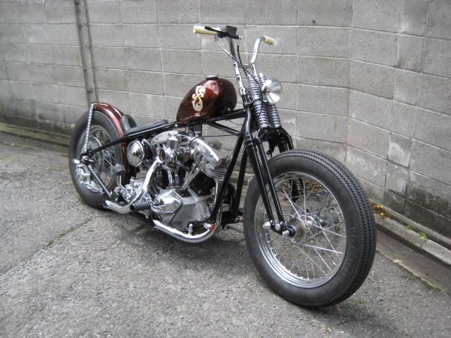 Harley Davidson Shovelhead 1975 By Luck Motorcycles Hell Kustom