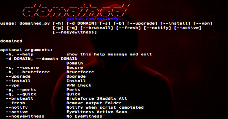 Domained : Multi Tool Subdomain Enumeration