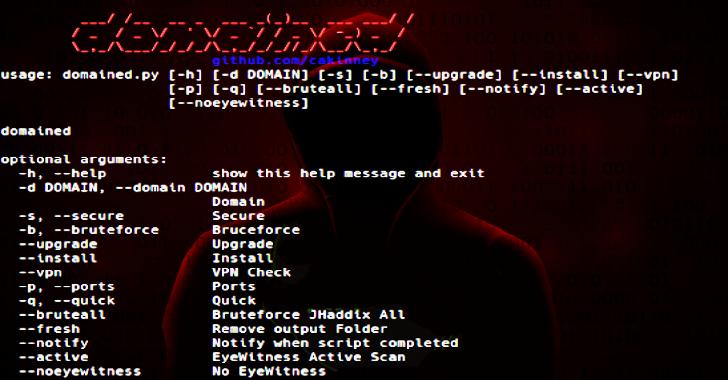 Domained : Multi Tool Subdomain Enumeration