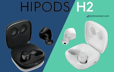 Tecno Hipods H2 Launched With Environment Noise Cancellation In India At A Price Of Rs.1,999