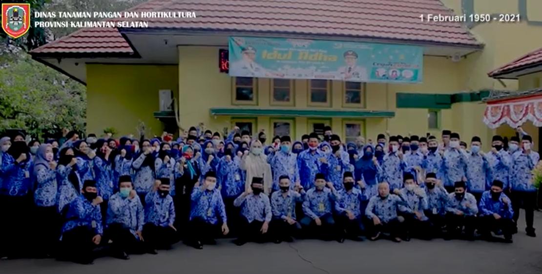 Happy Milad Dinas TPH Prov Kalsel ke-71