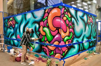 Artspan Transbay Terminal mural process 3