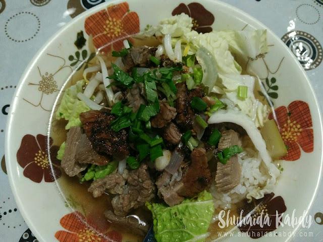 Air Tangan Kakak ~ Sup Daging