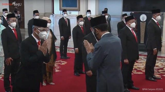 Jokowi Lantik Dewan Pengawas, Direksi BPJS Kesehatan dan Ketenagakerjaan
