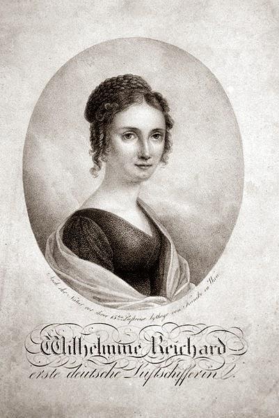 Wilhelmine Reichart by Adolph Friedrich Kunike, 1820