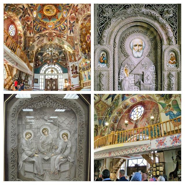 Иконы и росписи в храме свт.Николая