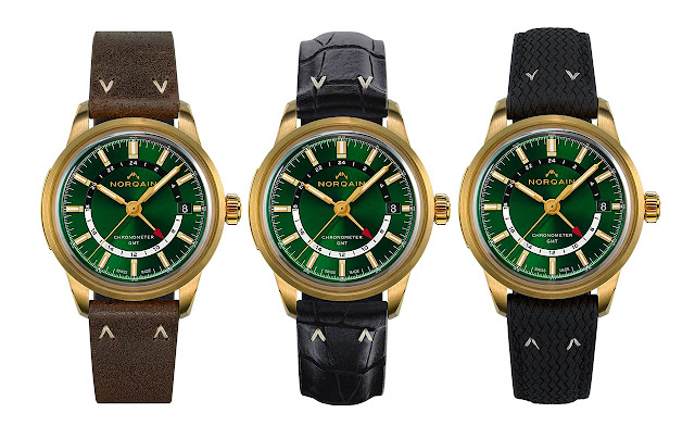 Norqain Freedom 60 GMT Forest Green