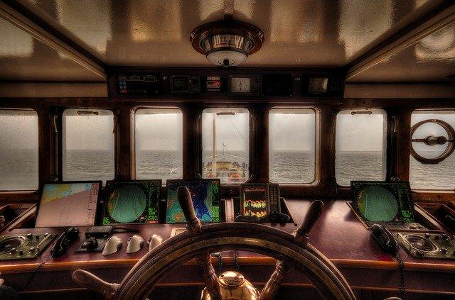 غرفة قيادة السفينة