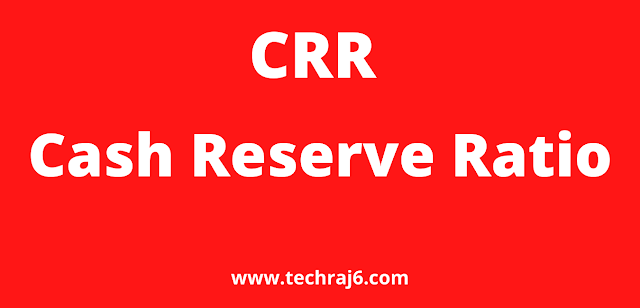 CRR full form, What is the full form of CRR