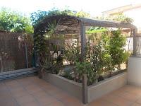 chalet adosado en venta calle zarauz grao castellon terraza1