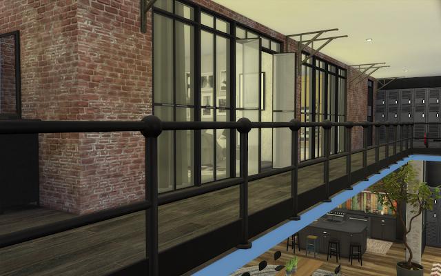 sims 4 mezzanine loft