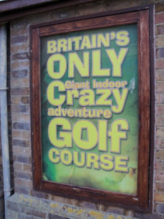 Indoor Crazy Mini Golf in Great Yarmouth