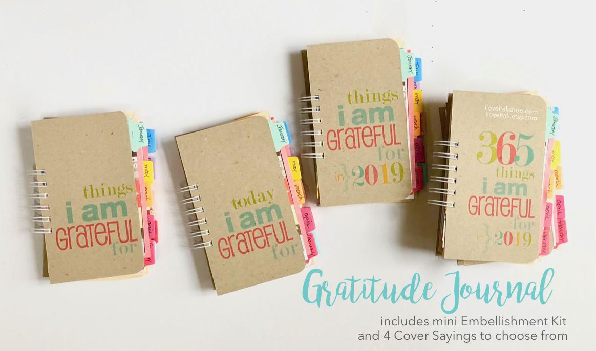 #Gratitude Journal #Grateful #Gratitude #Journal #notebook #Things I Am Thankful For #Thankful  #Mixed Media Journal  #Junk Journal