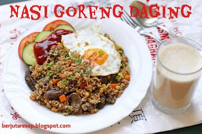 Resep Masakan Nasi Goreng Daging