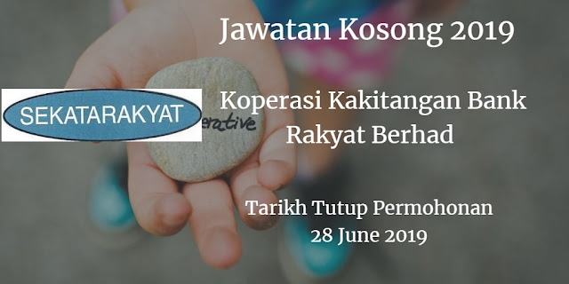 Jawatan Kosong SEKATARAKYAT 28 June 2019