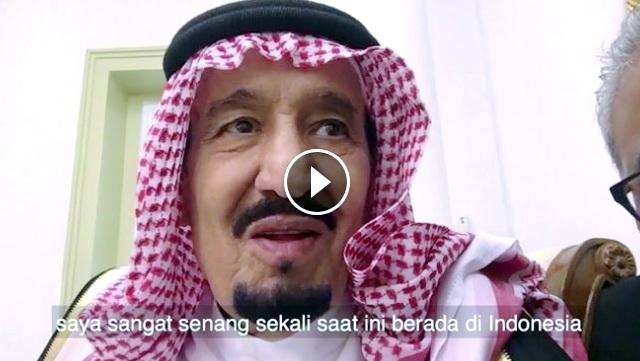 Ini Yang Diucapkan Raja Salman Usai Bersantap Siang Di Istana