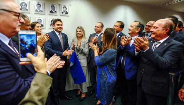 Deputado Juscelino Rezende é homenageado pela comissão de seguridade da câmara!!!